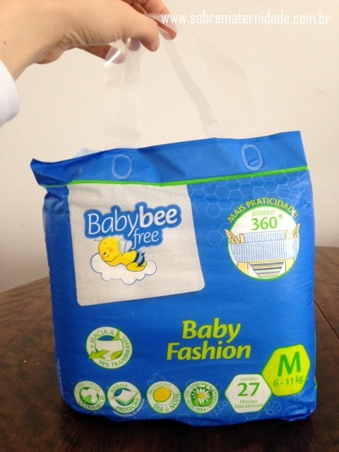 Teste de Fraldas: Baby Bee Free!
