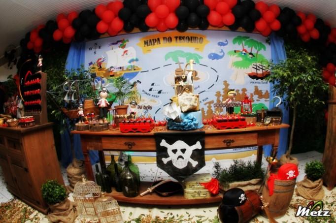Festa Pirata de Aniversário