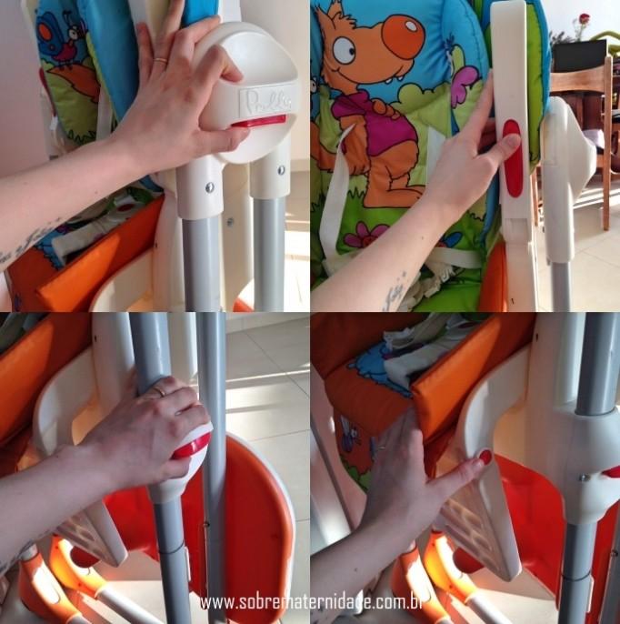 Cadeira de alimentação Chicco Polly