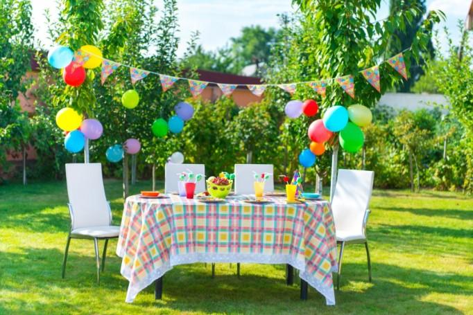 Dicas de decoração para uma festa infantil ao ar livre!