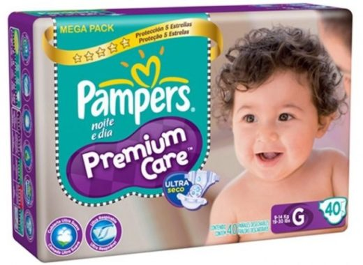 Nova Pampers Premium Care