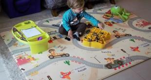 O melhor tapete para bebês e crianças: Daskom Modelo Premium