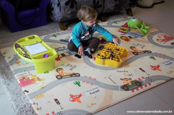 tapete para bebês e crianças