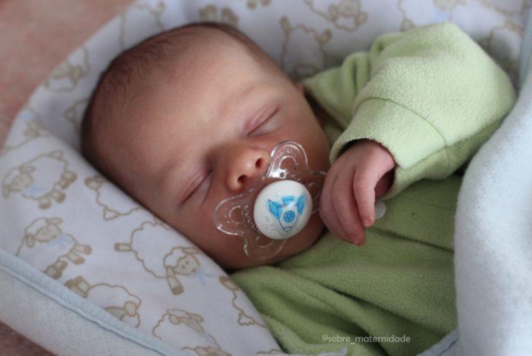 Ensinando bebê dormir noite toda