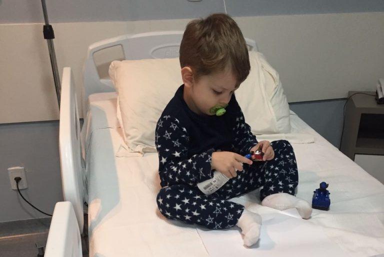 primeira vez no hospital